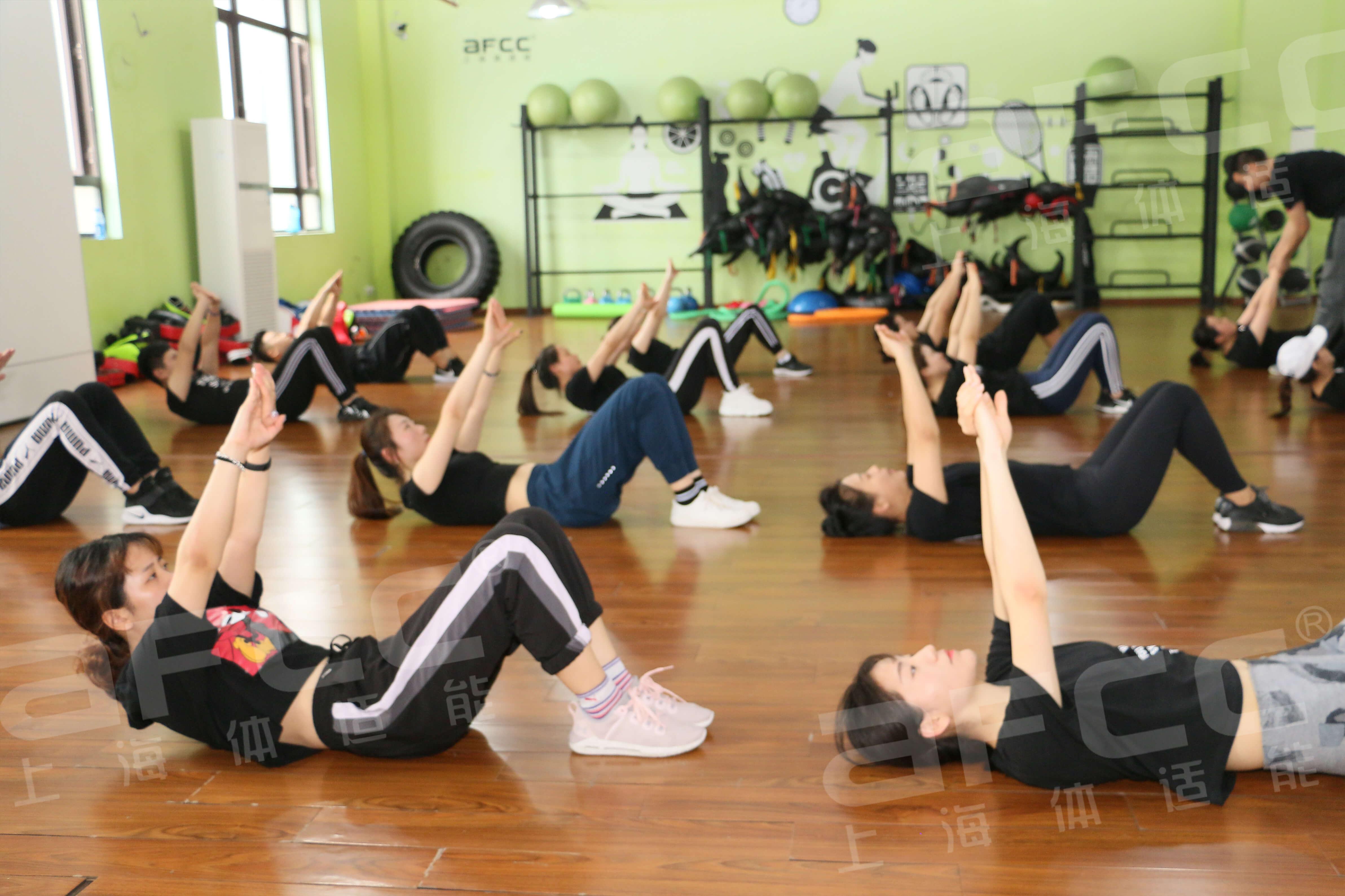 普拉提教练证书课程有上海体适能与上海健美操协会联合举办