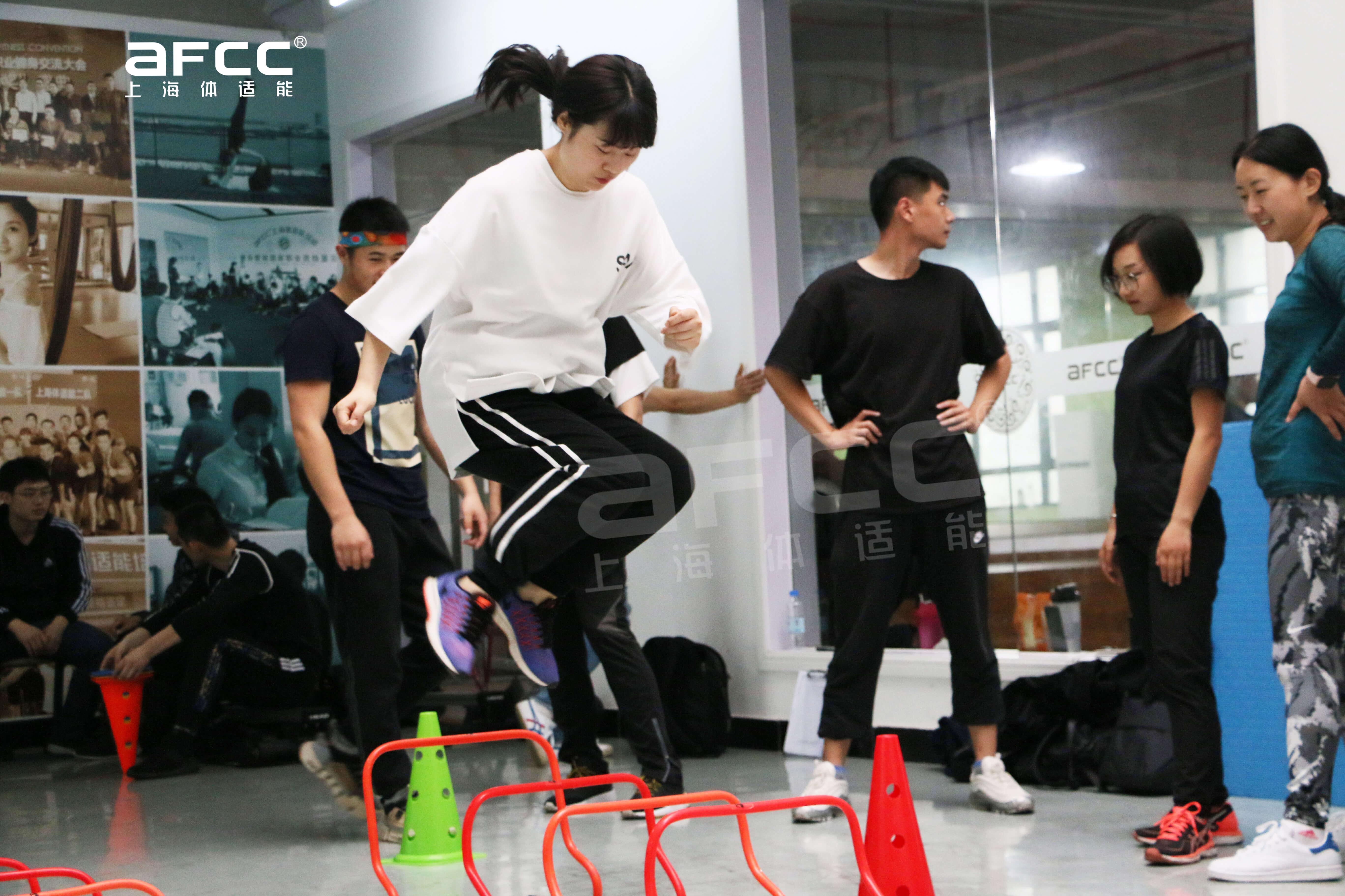 想要培训少儿体适能的请到上海体适能