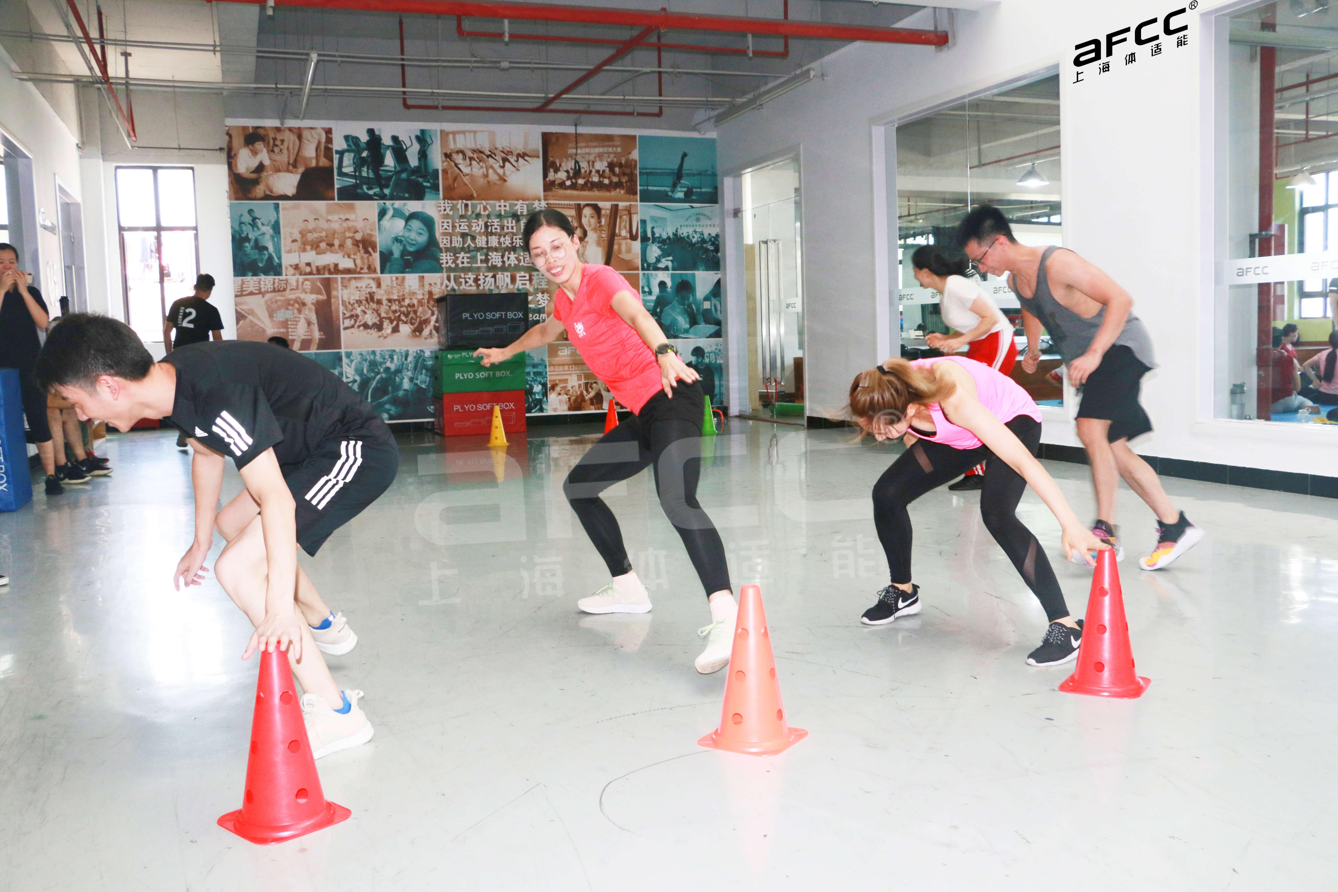 上海体适能专业培训长达十余年,被国家评为就业突出贡献单位
