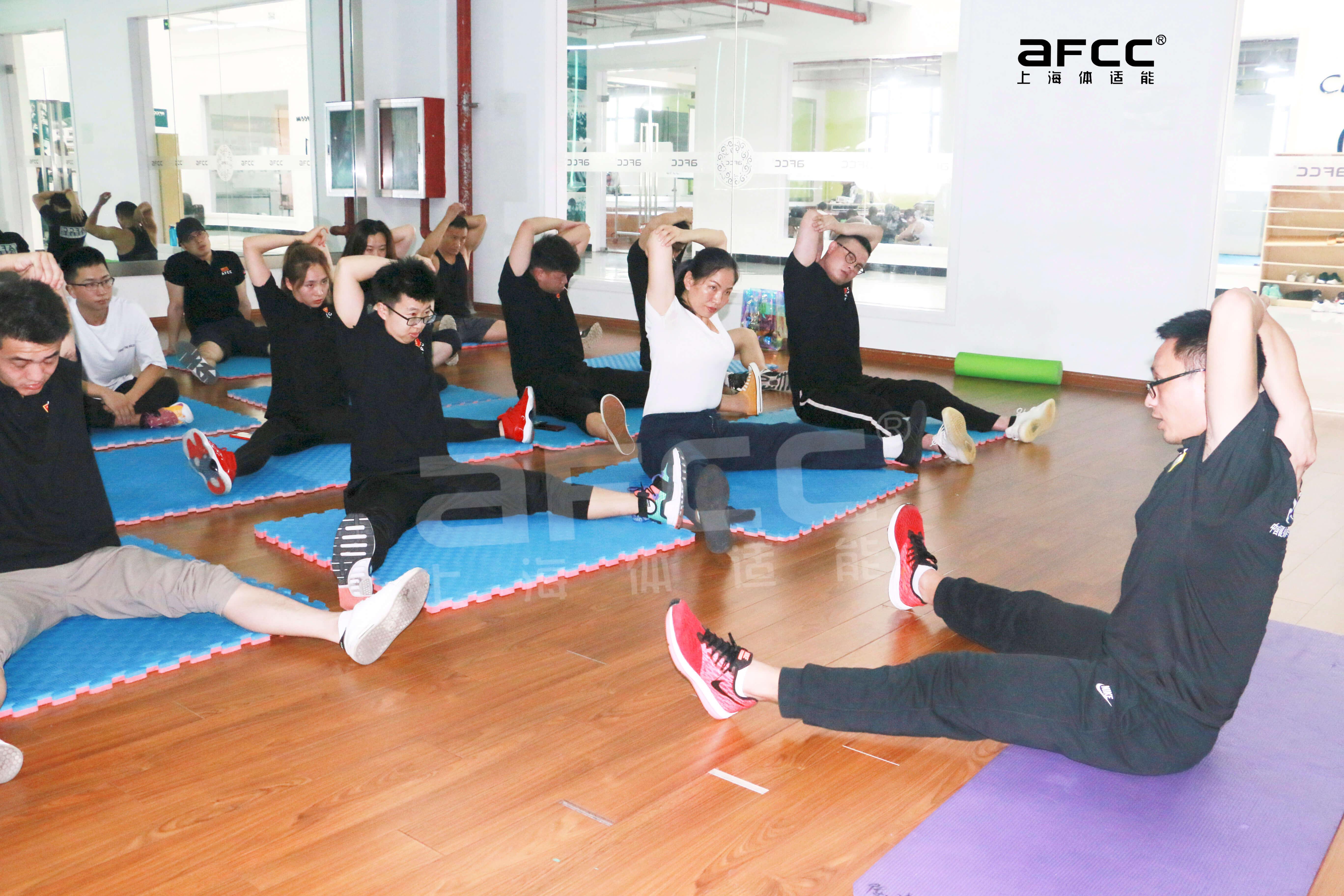 上海体适能学校教研团队由多名国家级专业导师组成