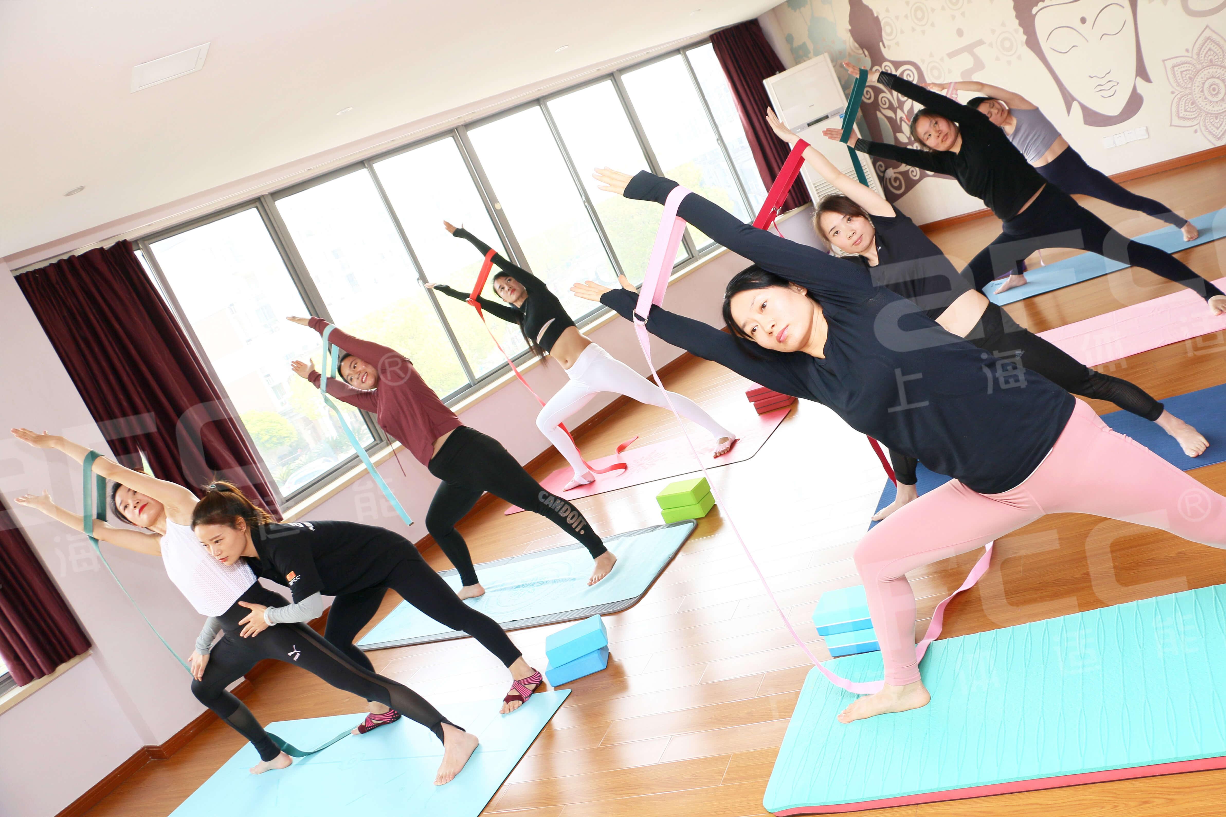 瑜伽,全世界流行的团体课程之一