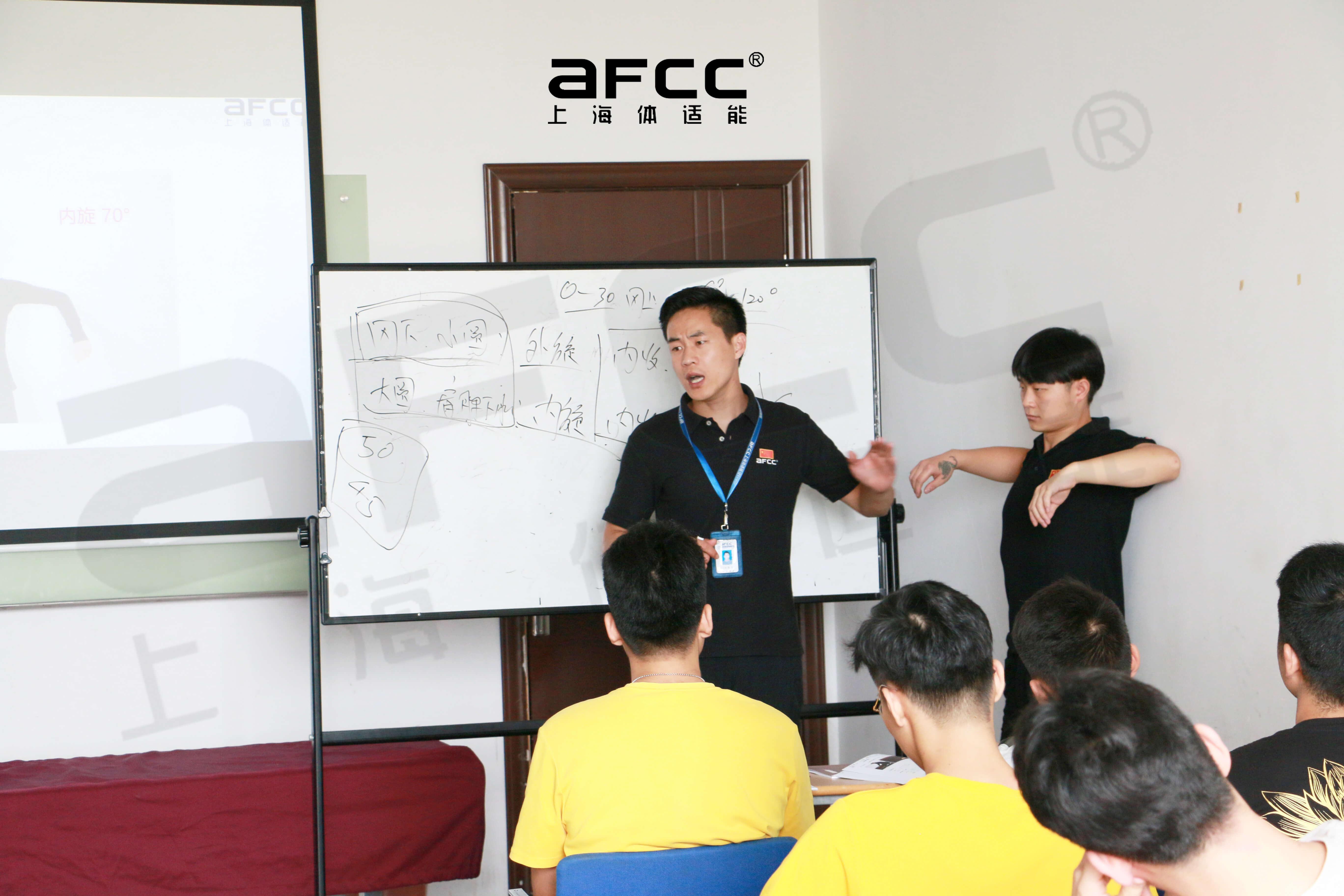 """上海体适能将开启 """"AFCC黑科技(EMS)健身与运动康复认证"""" 课程"""