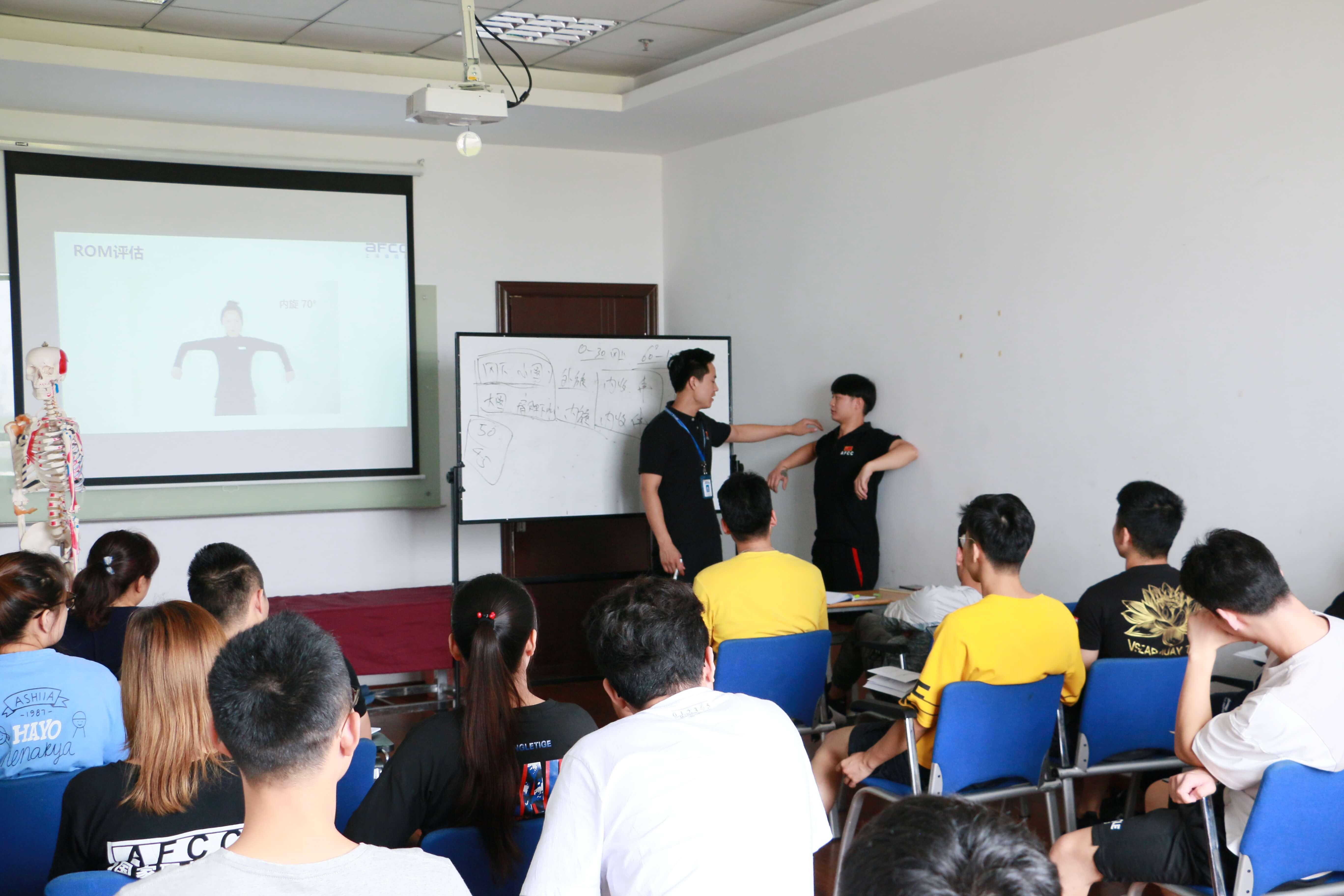 孕产康复训练已经参加过AFCC私教课程并想进一步提升,以在职场上拥有更大竞争力的同学
