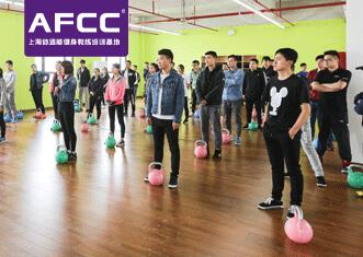 上海体适能健身教练培训教学实景