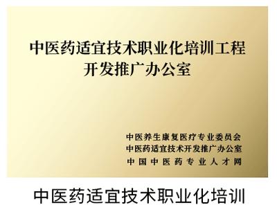 中医药适宜技术职业化培训